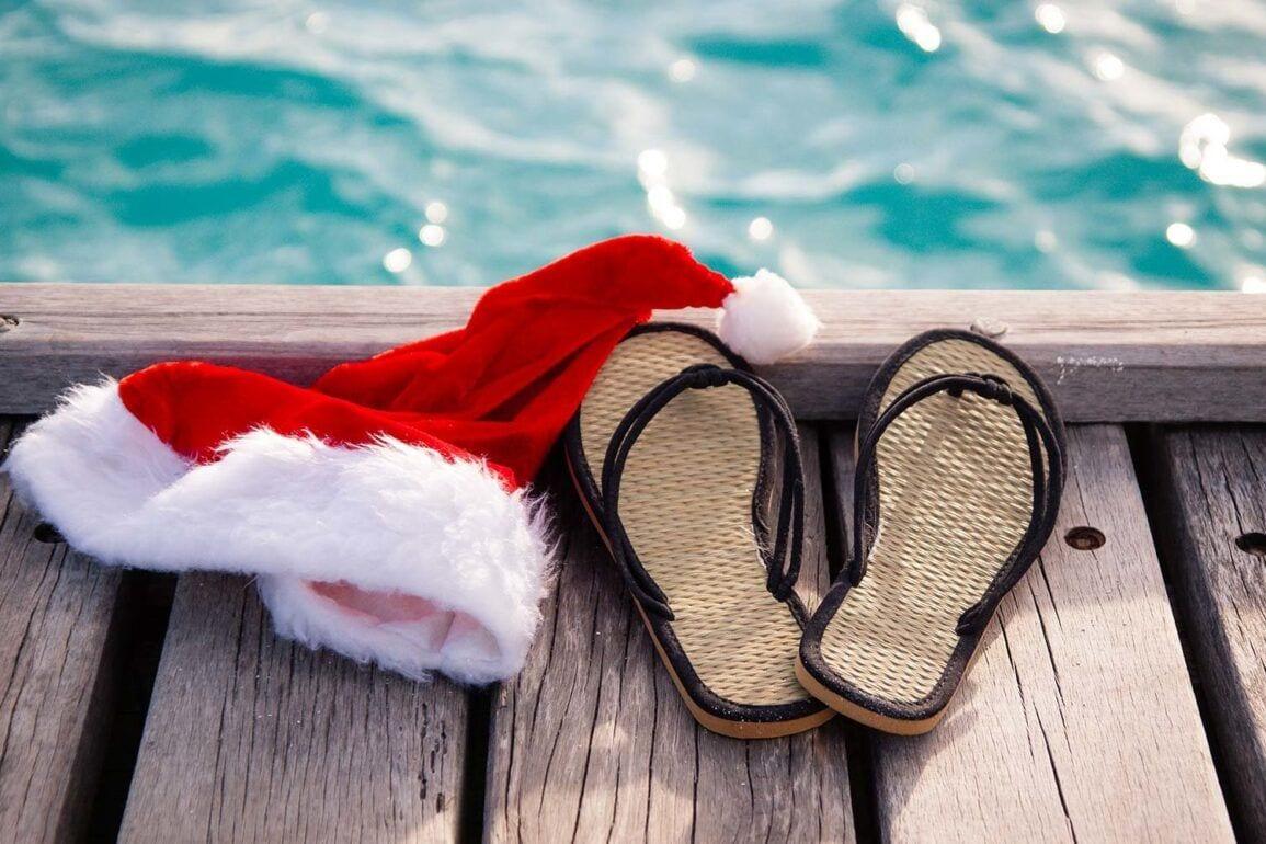 beach christmas holidays summer travel SUMMERXMAS0717