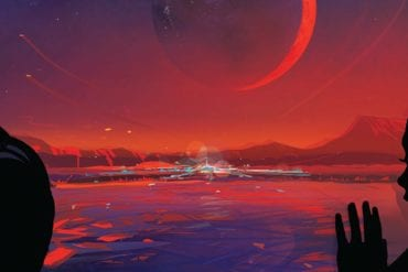 nasa released a tourist poster oftrappist 1e an earth like planet in the habitable zone of the sta