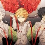 Emma Ray and Norman the promised neverland