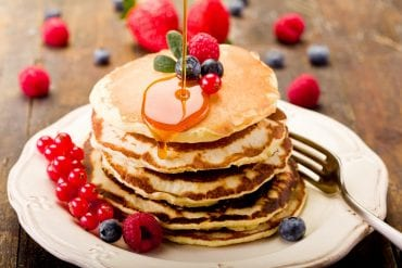pancakes and berries scaled