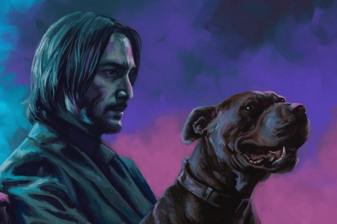john wick with dog scaled