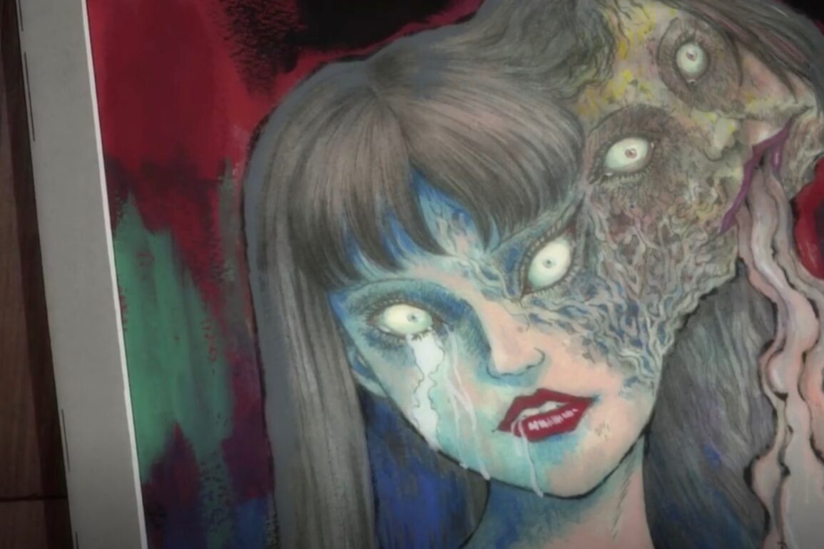 junji ito collection anime painting scaled