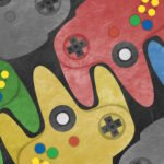 nintendo 64 controllers scaled