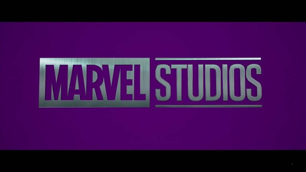 Marvel Studios banner turned purple