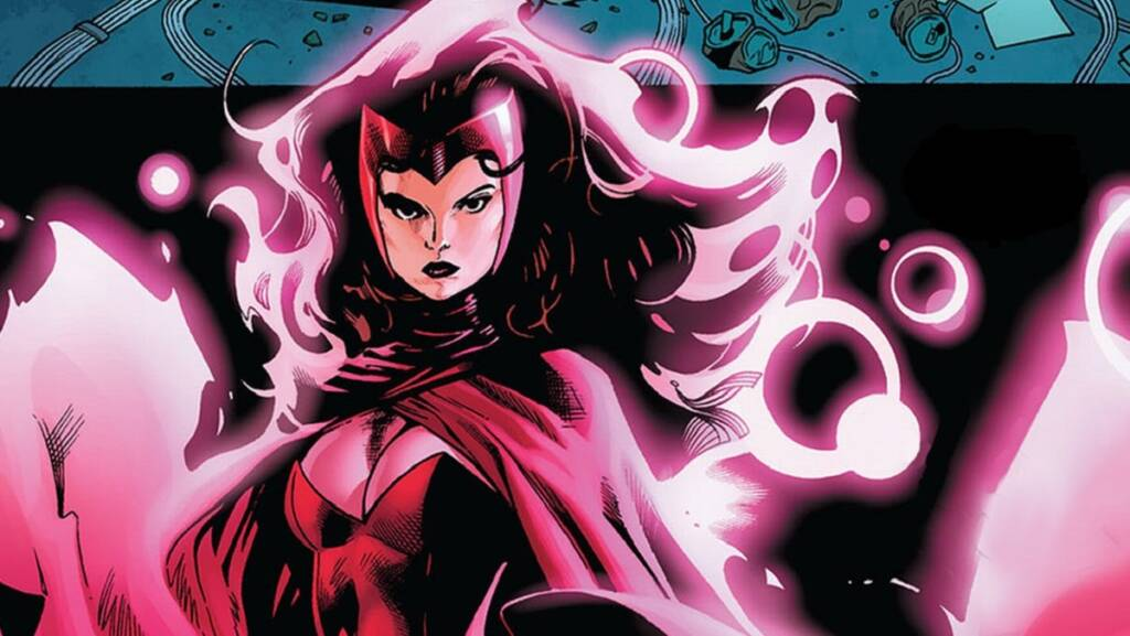 Scarlet Witch from Comics