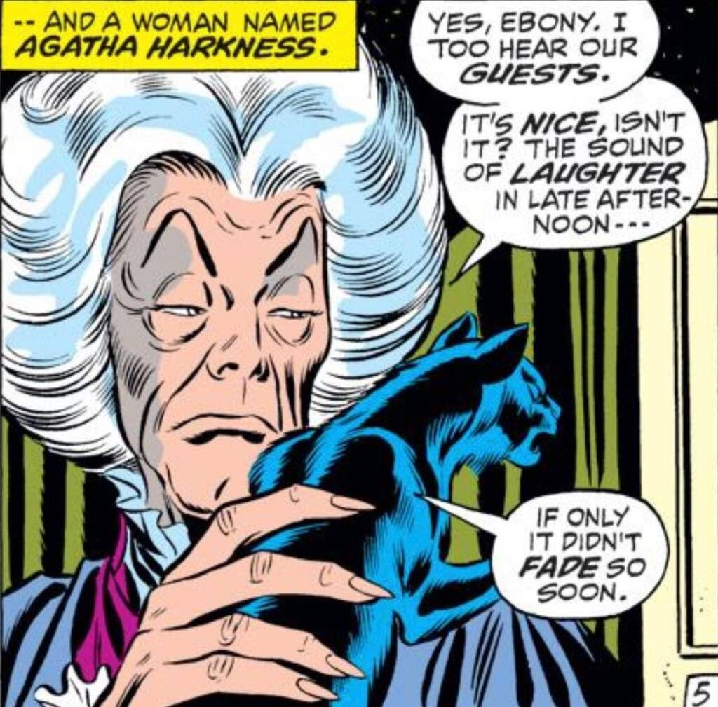 agatha harkness in the comics