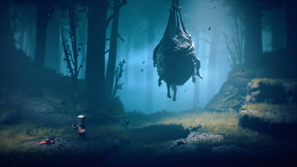 mono from little nightmares 2 in the forest