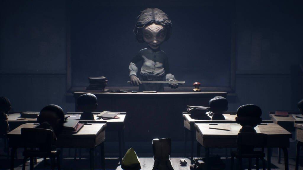 the teacher from little nightmares 2