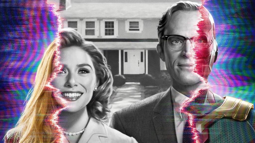 wanda and vision reality vs sitcom
