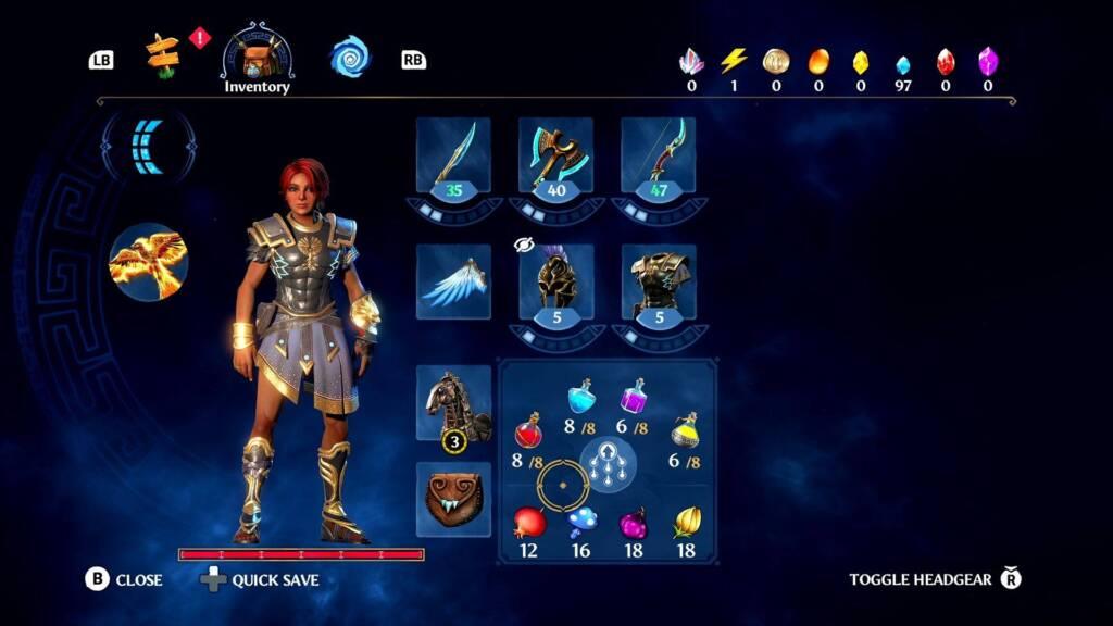 Immortals Fenyx Rising character creation