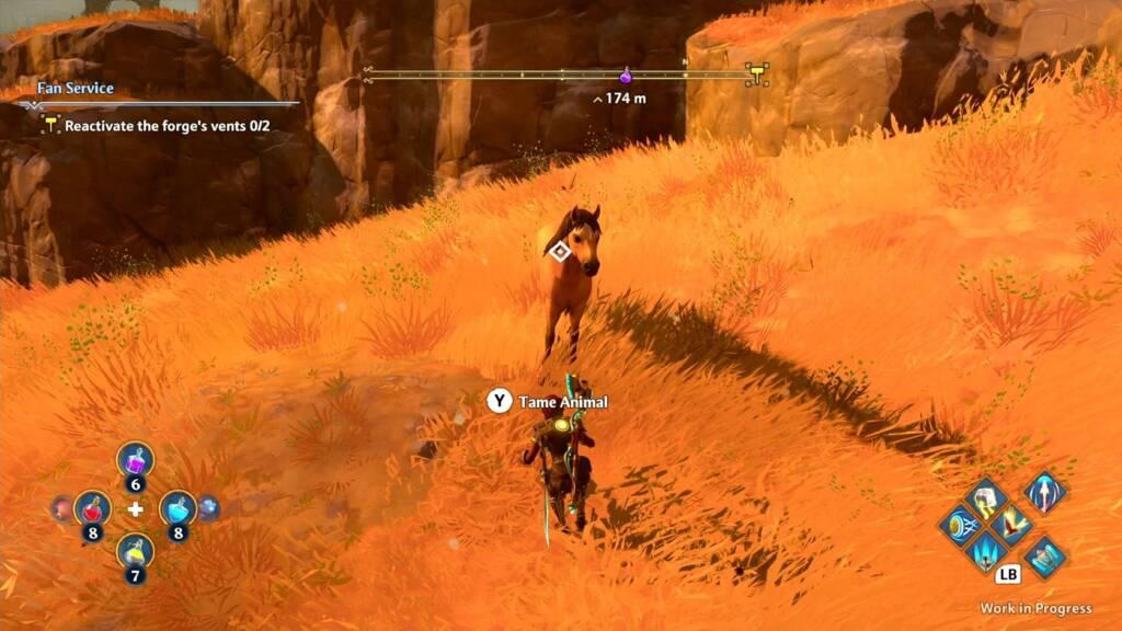 immortals fenyx rising horse and main character