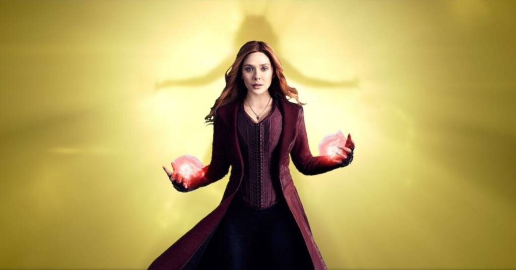wandavision wanda as scarlet witch