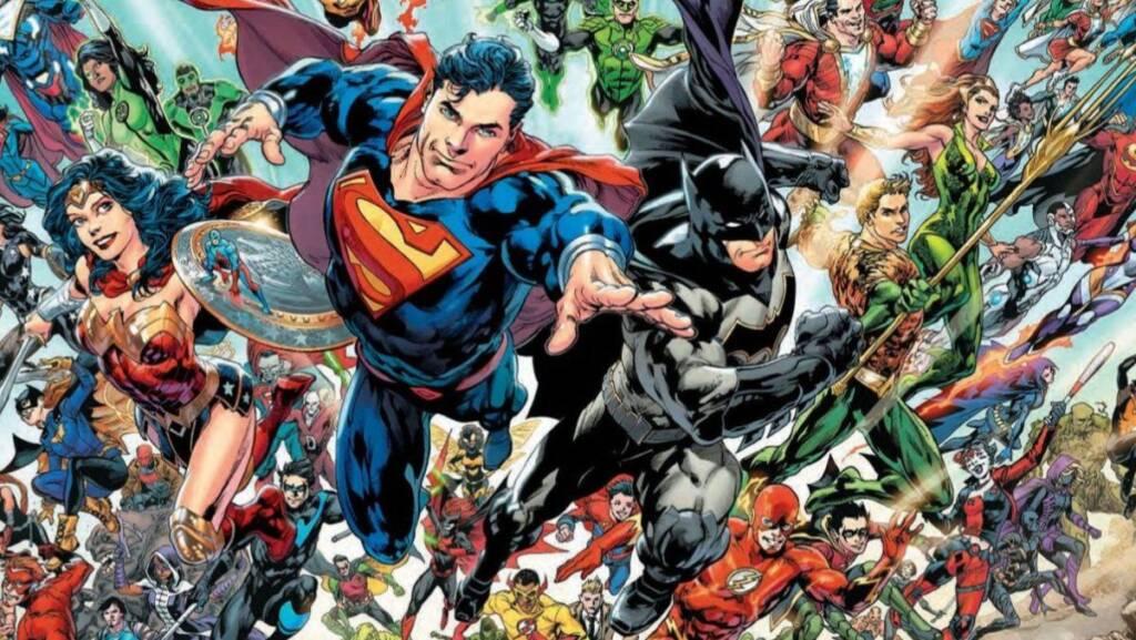 dc comic books heroes