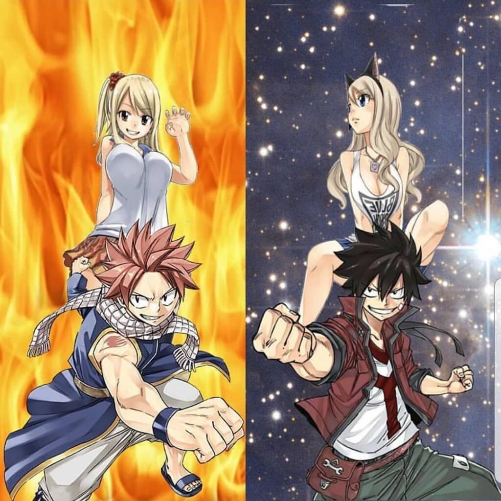 edens zero and Fairy Tail Comparison
