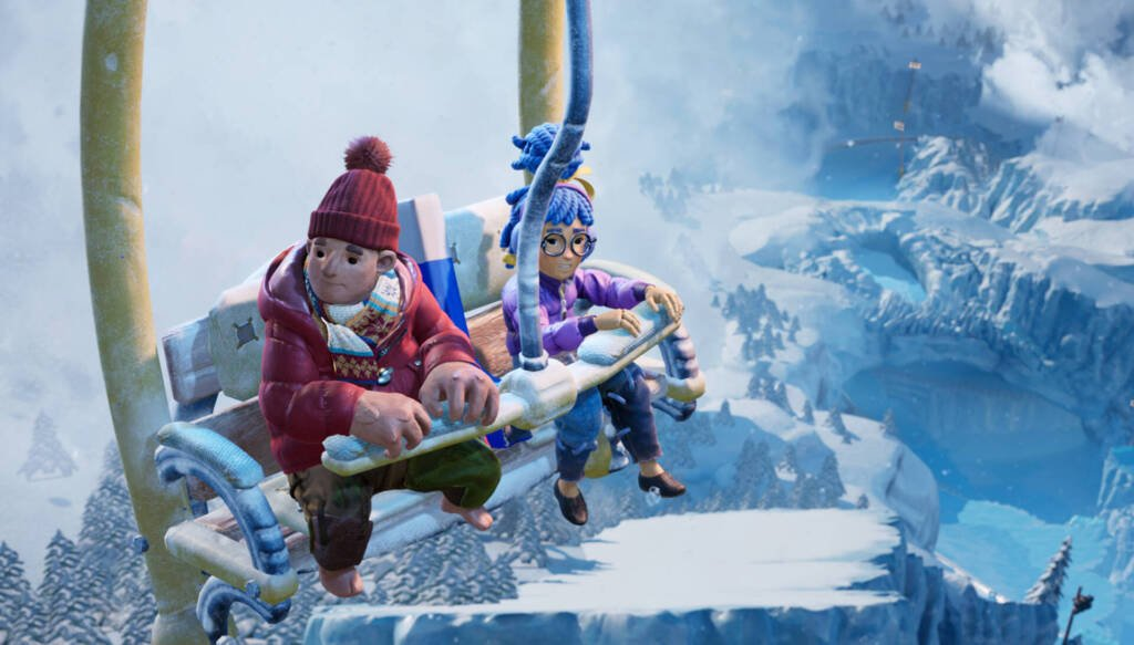 it takes two co op game snowy levels